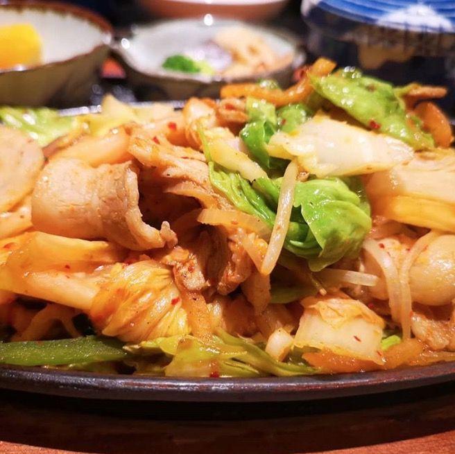 韩式炖菜+生菜包饭