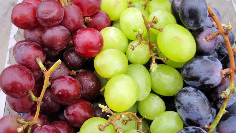 葡萄这样洗,快速,省水又不怕吃进农药的秘诀!
