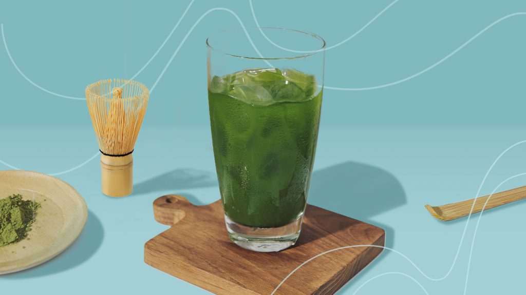 每天早上喝一杯抹茶来增加精力和注意力