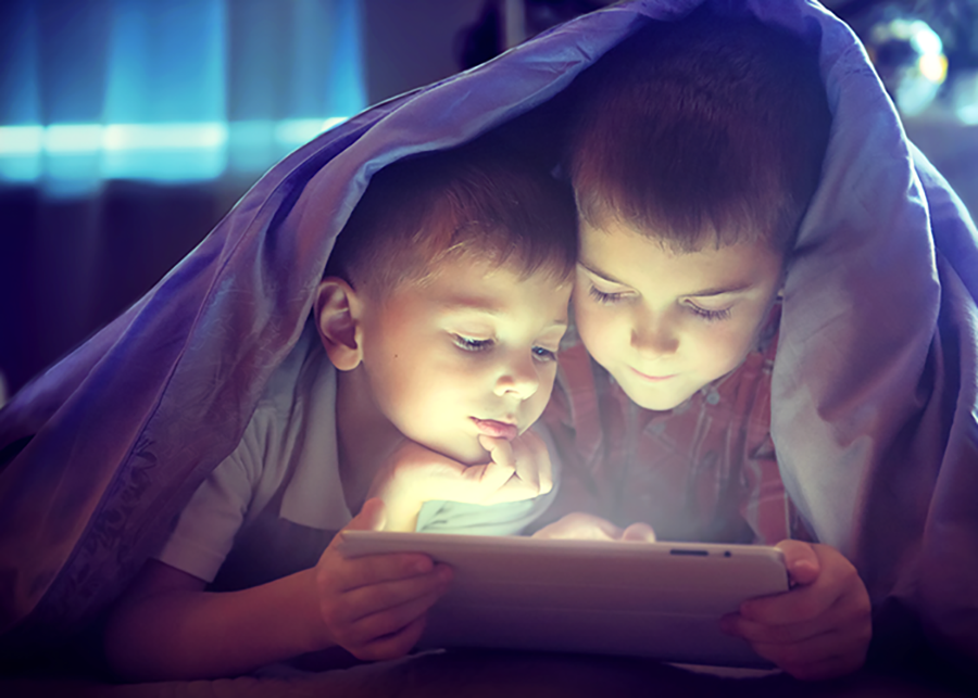 蓝光如何影响你的睡眠