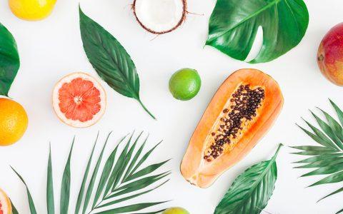 让肌肤容光焕发的6种营养素及对应的食物