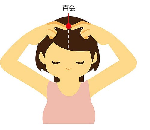 位于头顶的百会穴意指多处经络的交会之处,具备改善头痛、耳鸣甚至忧郁等多种疗效