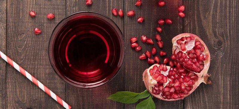 石榴汁的功效与作用:地球上最健康的果汁?
