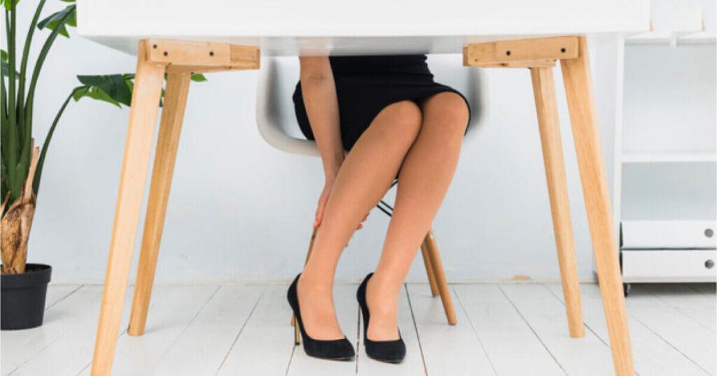 常穿高跟鞋阿基里斯腱会变硬!壁咚伸展操消除僵硬萝卜腿