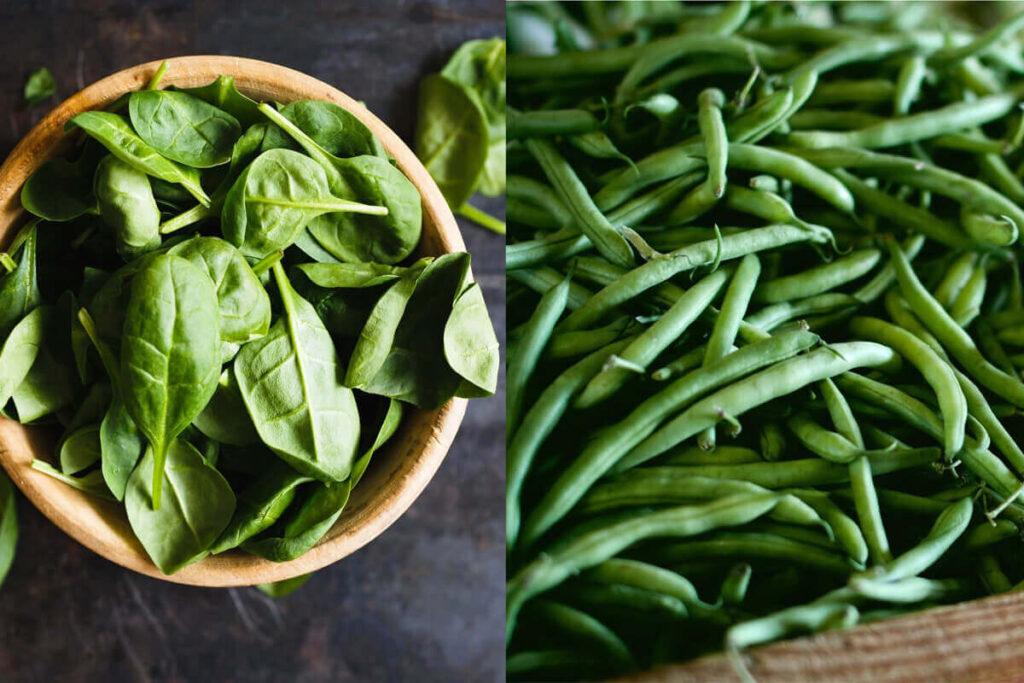深绿色蔬菜