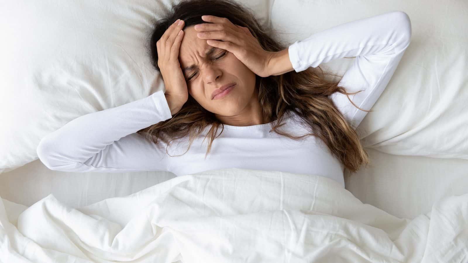 起床时常头痛?当心身体发出的8个警示