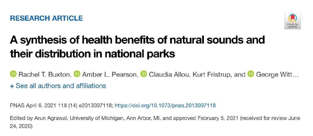 不开心时就让「白噪音」治愈你!《PNAS》研究:鸟鸣最舒压,水流声改善情绪
